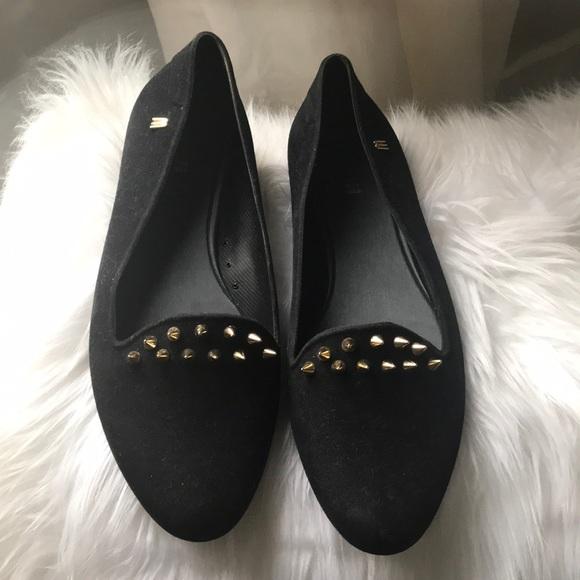 ecda54181b4 Melissa Black Virtue Stud Slipper Shoe. M 5a495a02fcdc31c55d01fcd1